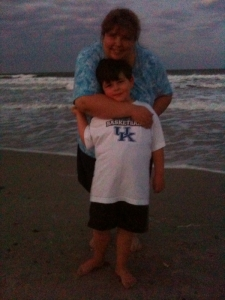 Me and Spencer at Kure Beach