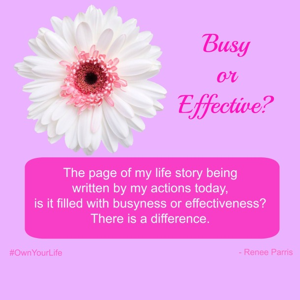 Busy or Effective
